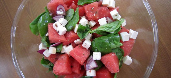 Watermelon & Feta Cheese Salad