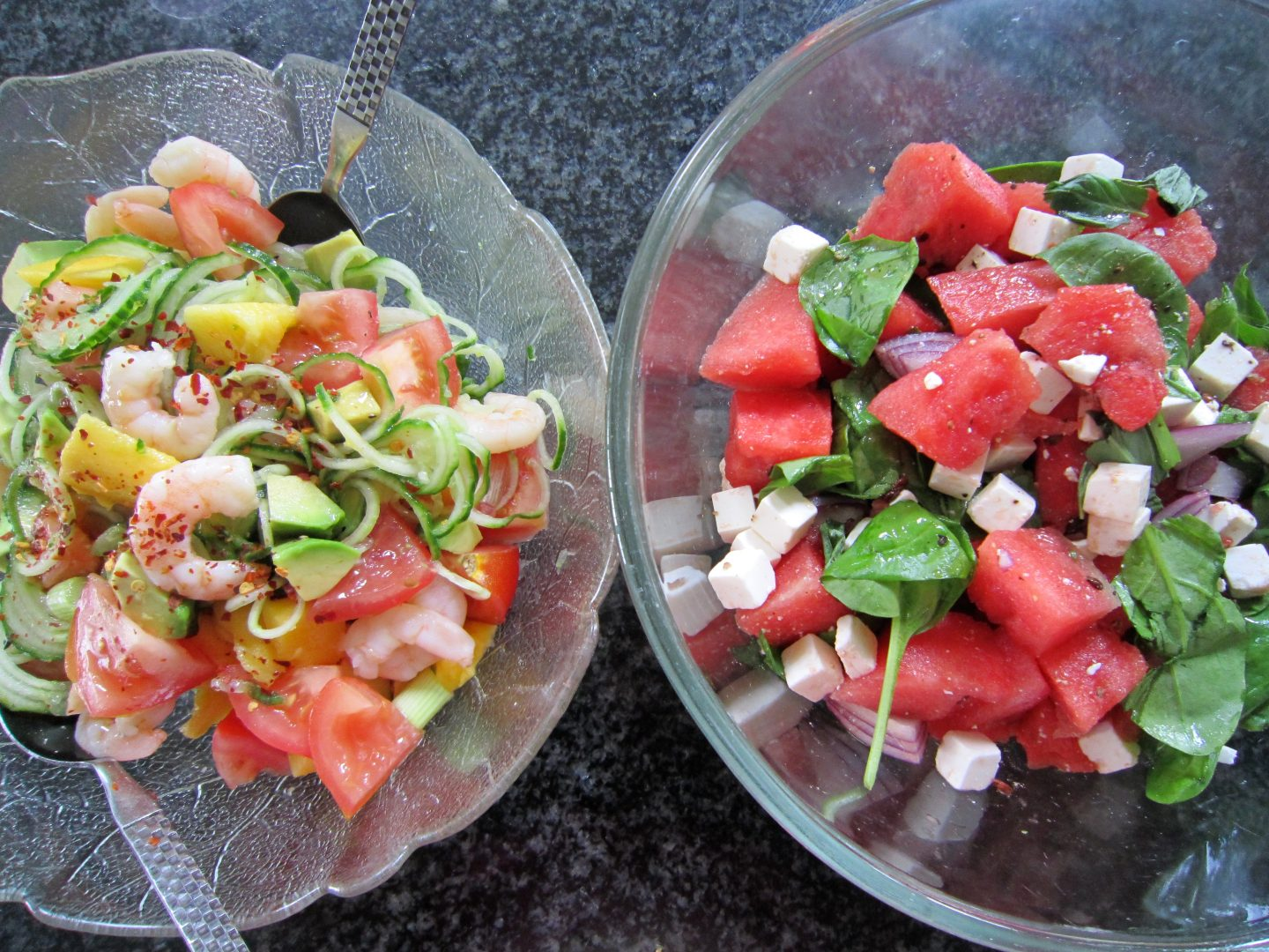 Summer Salads with Fruit
