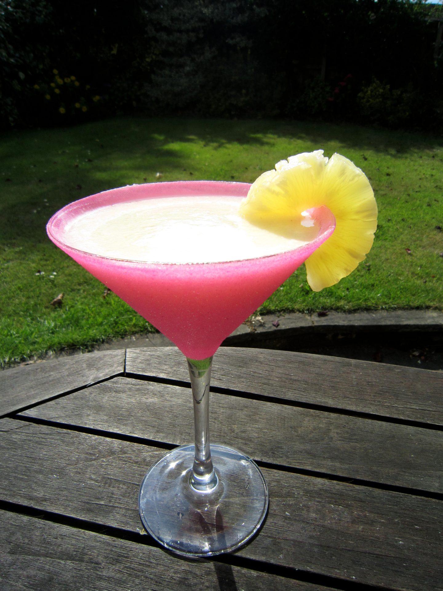 Healthy Pina Colada Mocktail