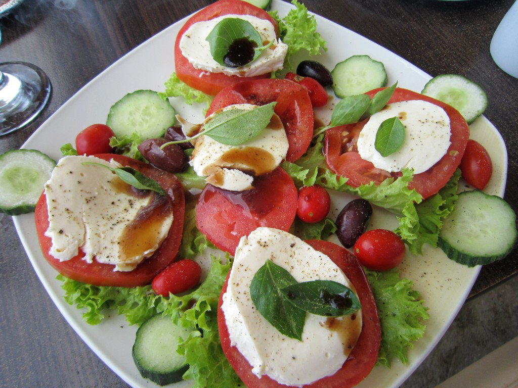 Healthy Greek Lunch