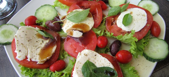 Healthy Greek Lunch