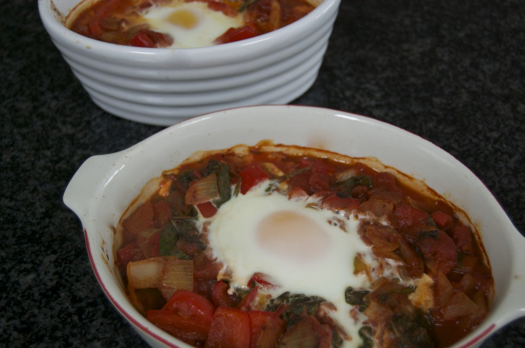 Healthy Baked Eggs