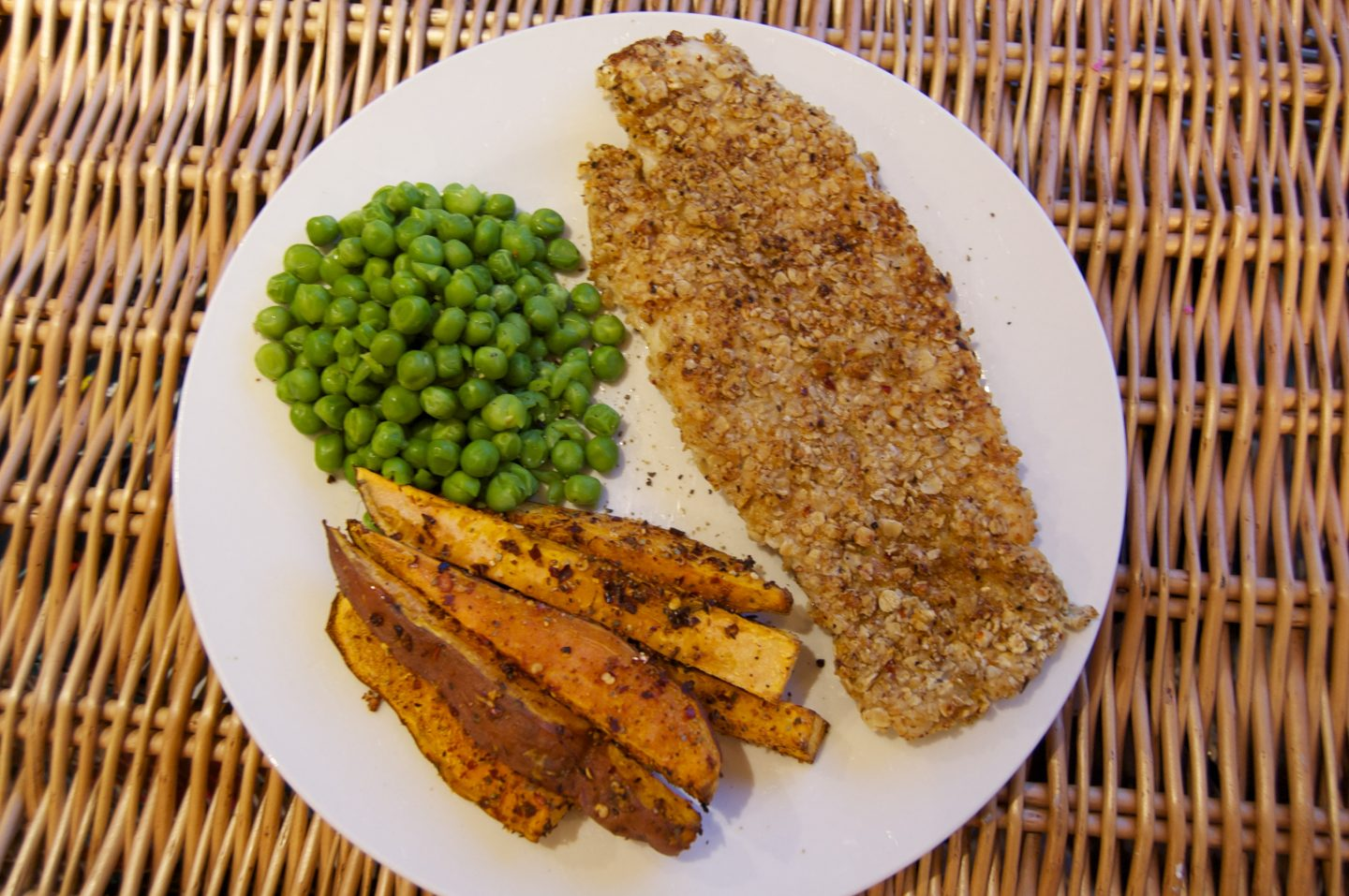 Healthy Fish & Chips Recipe