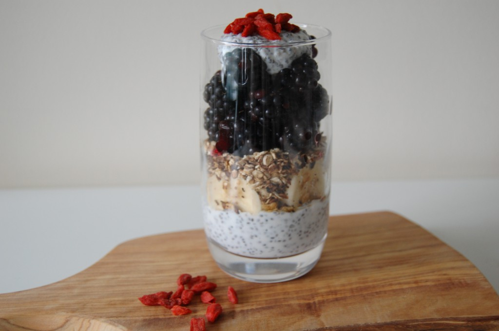 Berry and Chia Seed Pudding