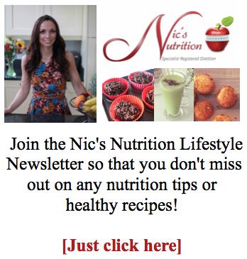 Nics Nutrition Newsletter