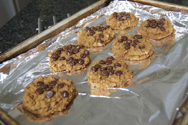 Chickpea Blondie Cookies (& a dip!)