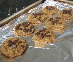 Delicious Chickpea Blondie (healthy!) cookies!