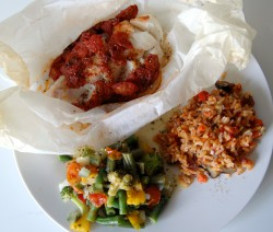 Delicious Baked Fish with a Tomato Sauce Recipe