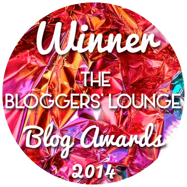 BL Awards Winner Blog Badge foil