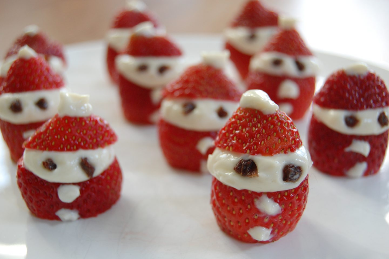 Strawberry Santa Men