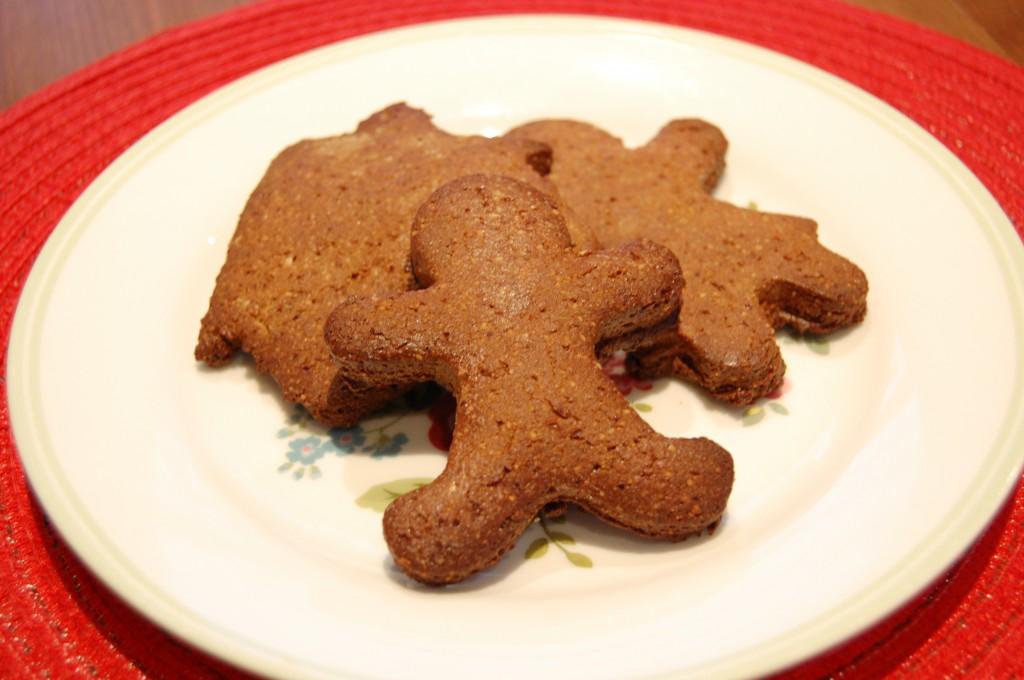 Healthy Gingerbread Protein Cookies
