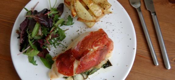 Chicken Melt with Parma Ham