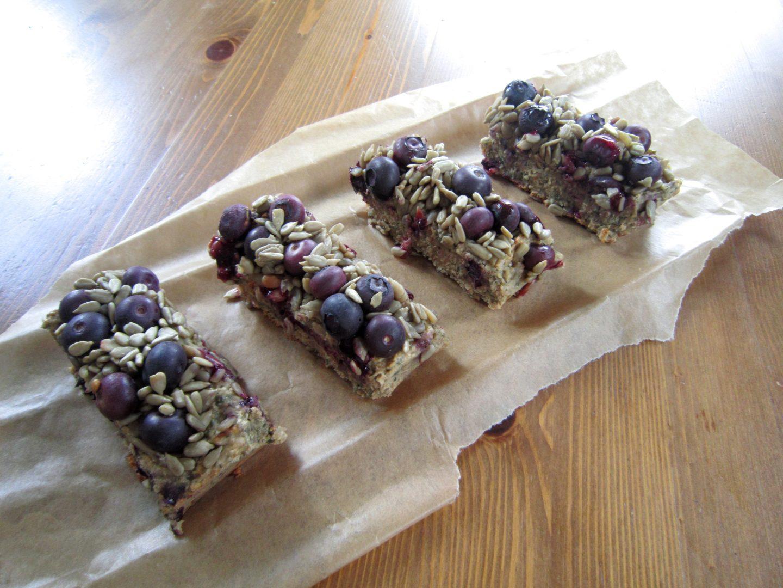 Vanilla & Blueberry Protein Energy Bars