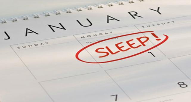 Sleep more!