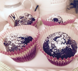 Protein Chocolate Muffins