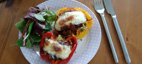Quorn Stuffed Peppers