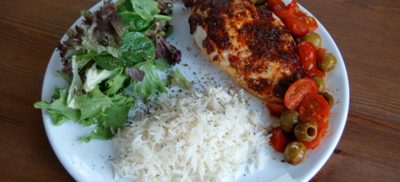 Healthy Spanish Chicken