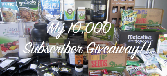 NicsNutrition Giveaway