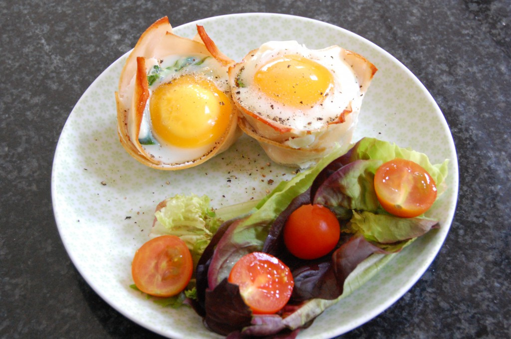 Chicken & Egg Muffin