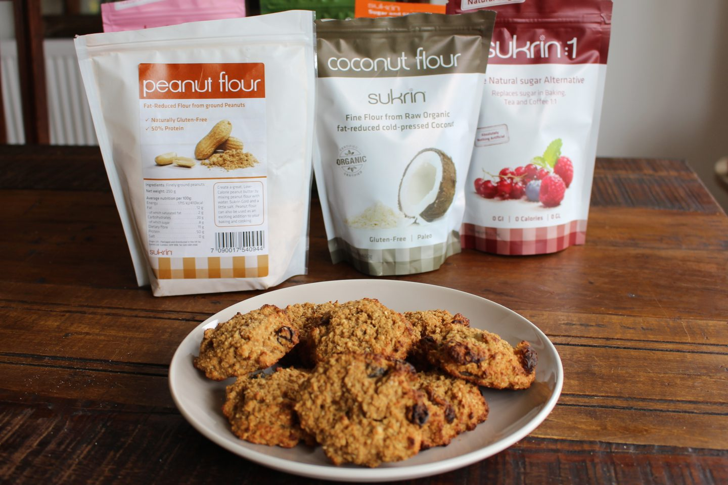 Sukrin Sugar Free Cake Mix Review & Healthy Cookie Recipe!