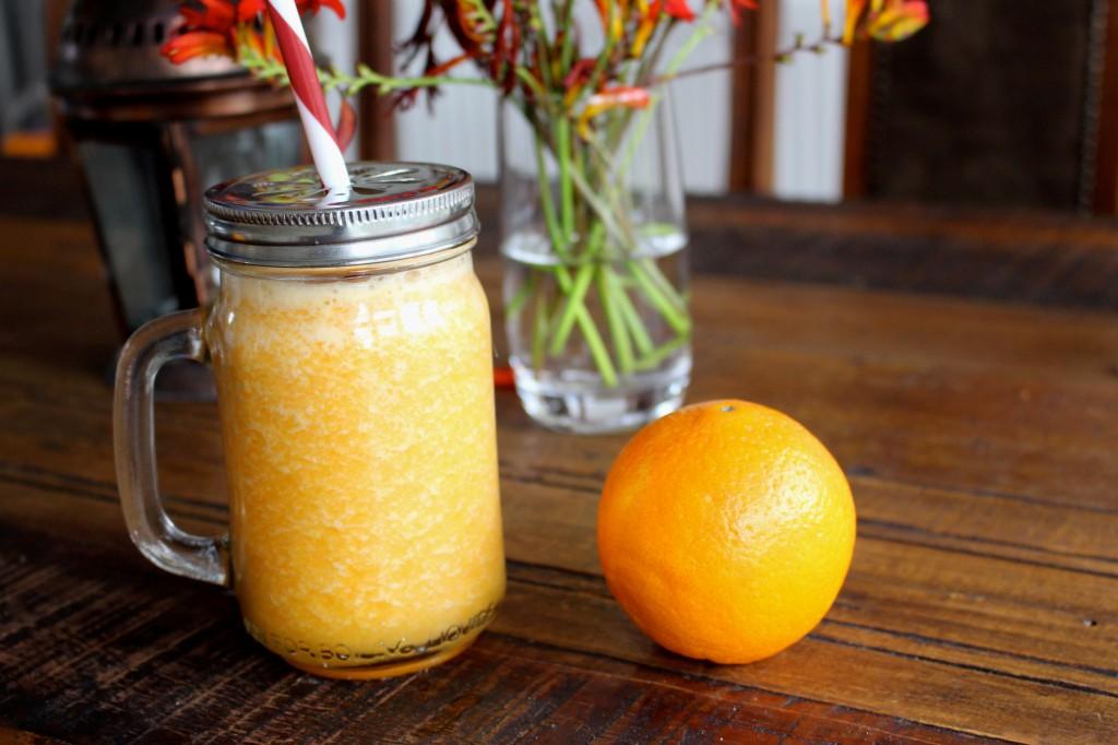 Orange & Carrot Water