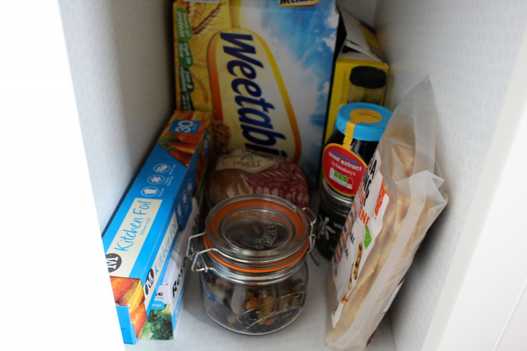What's in my food cupboards