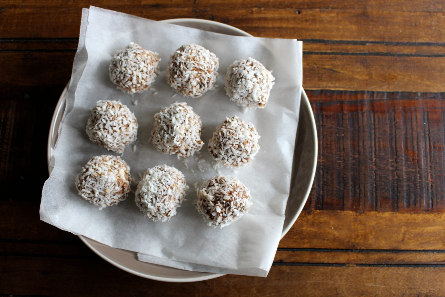 High Protein Snack Balls with Wedges & Weights!