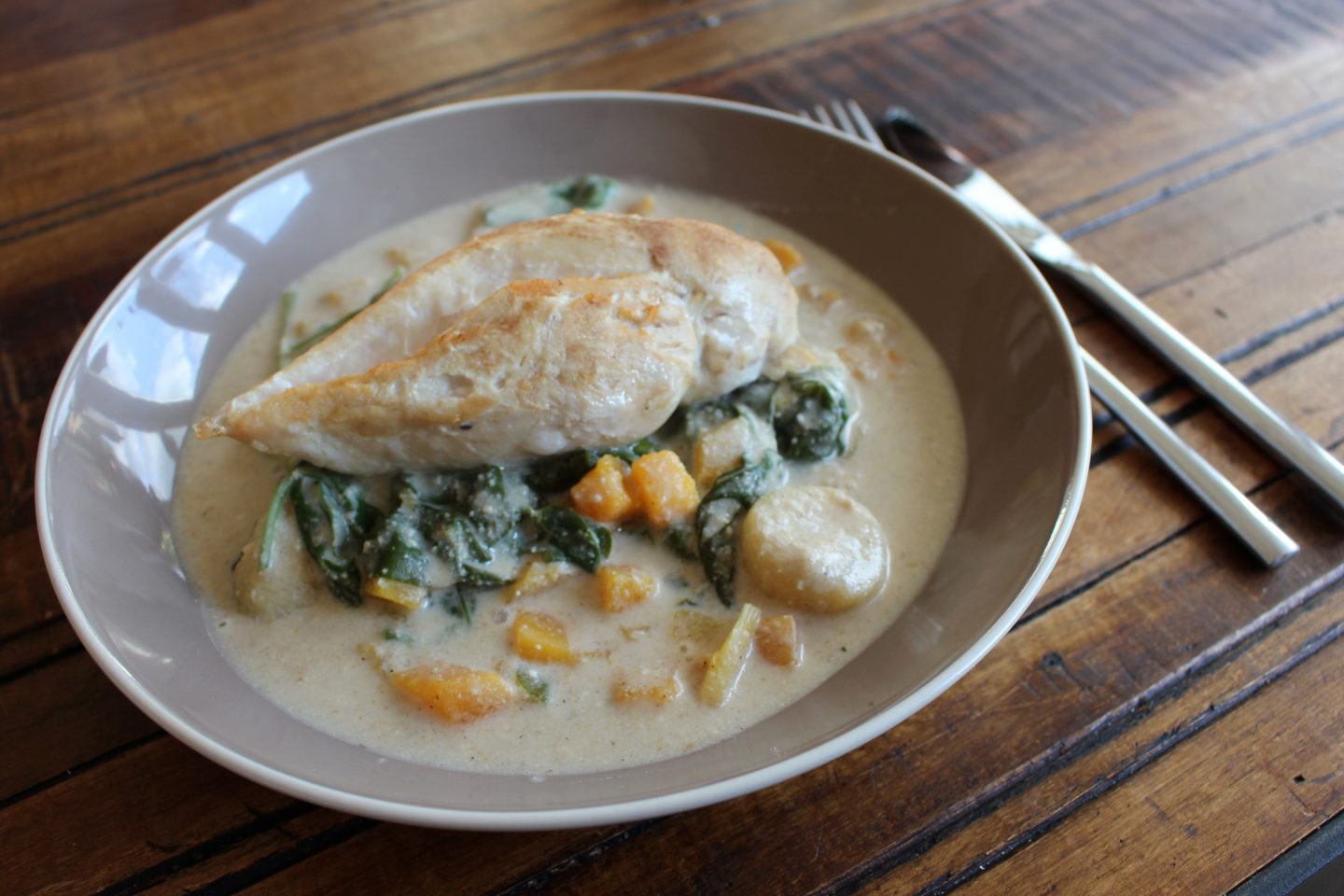 Chicken & Butternut Squash Coconut Curry