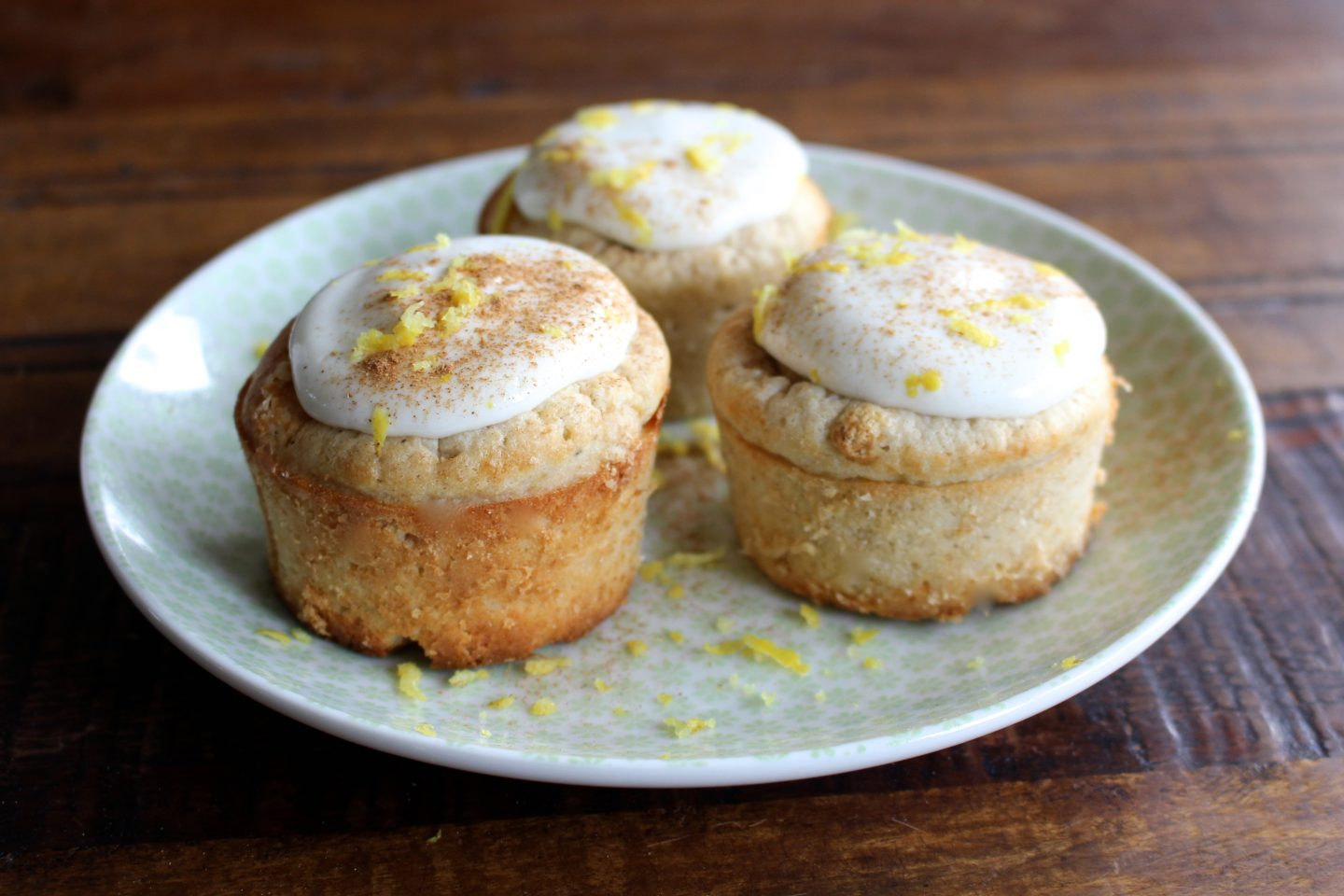 Healthy Lemon Muffins