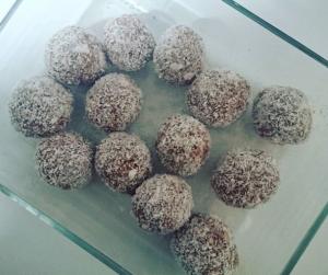 Healthy Protein Snowballs