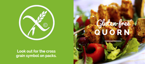 Quorn.. Meat Free & Gluten Free!
