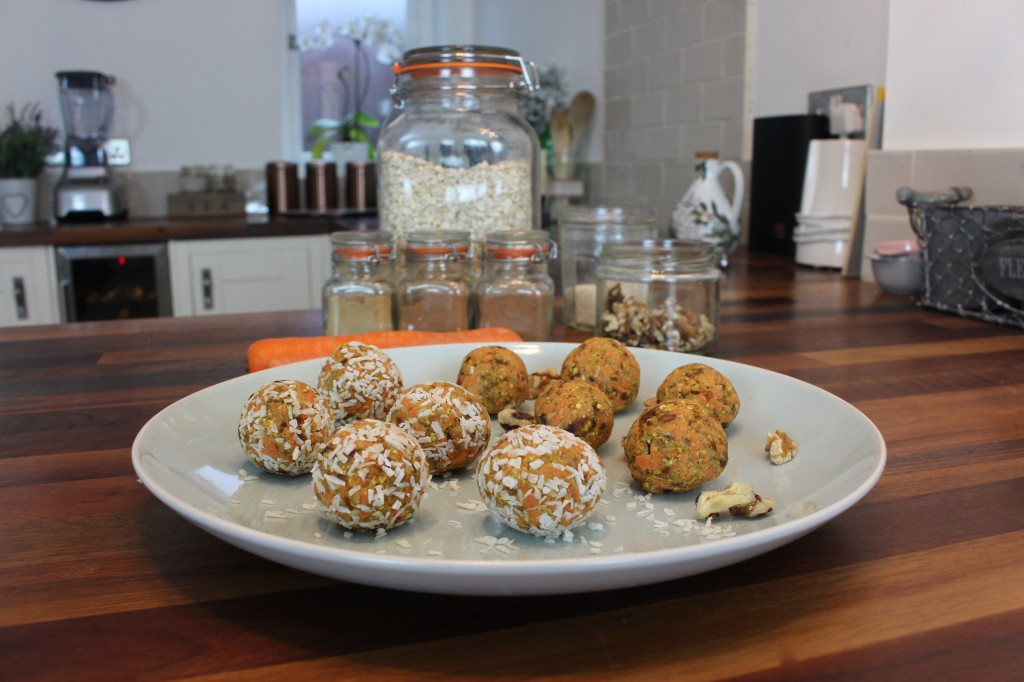 No Bake Carrot Cake Bites