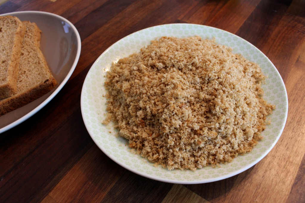 Wholemeal breadcrumbs