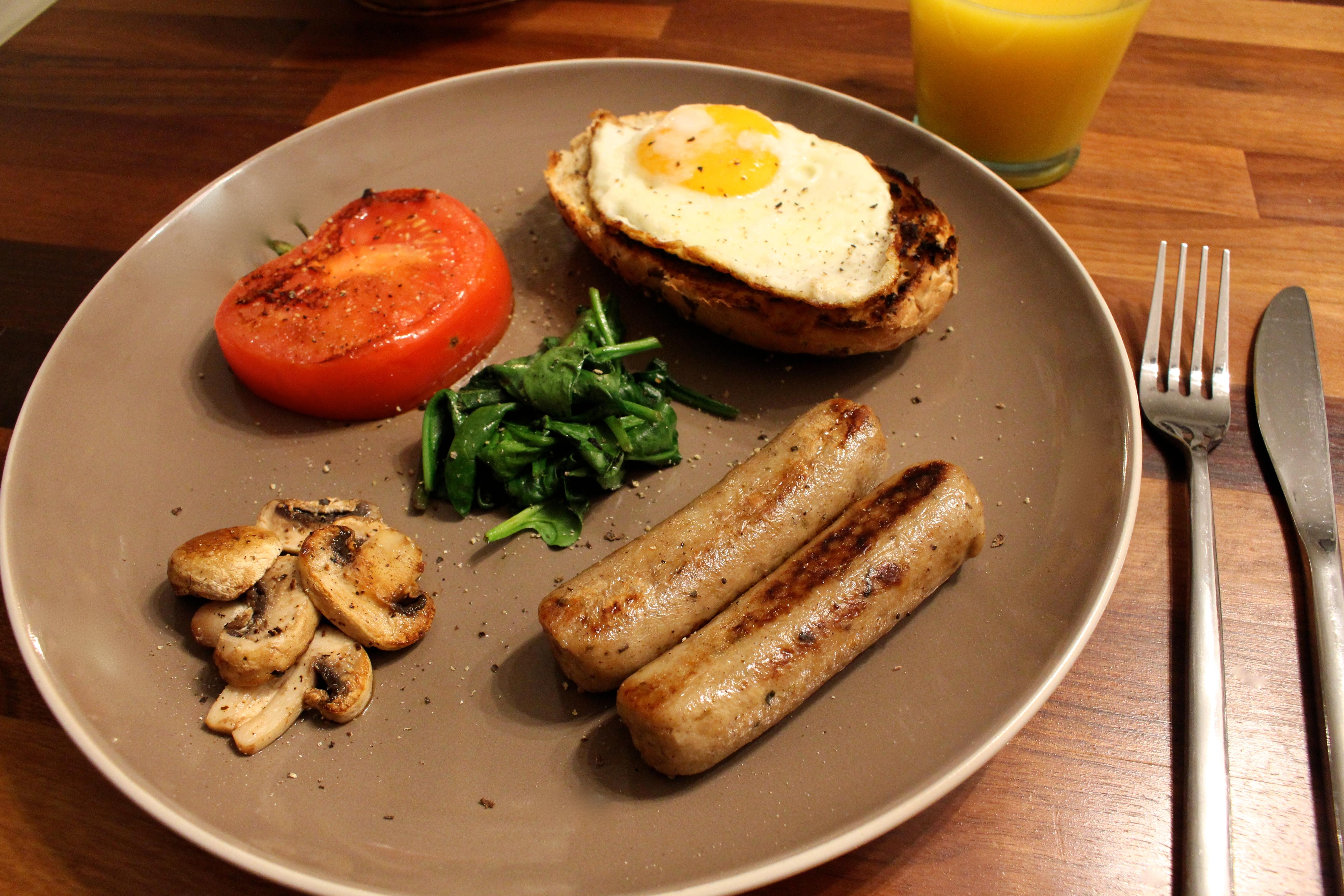 Meat Free Breakfast