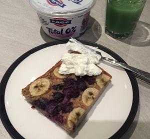 Baked Berry & Banana Oats