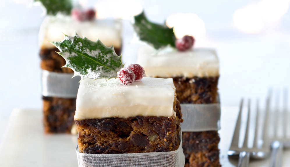 No Added Sugar & Gluten Free Christmas Cake