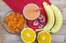 Orange Banana & Carrot Smoothie Recipe