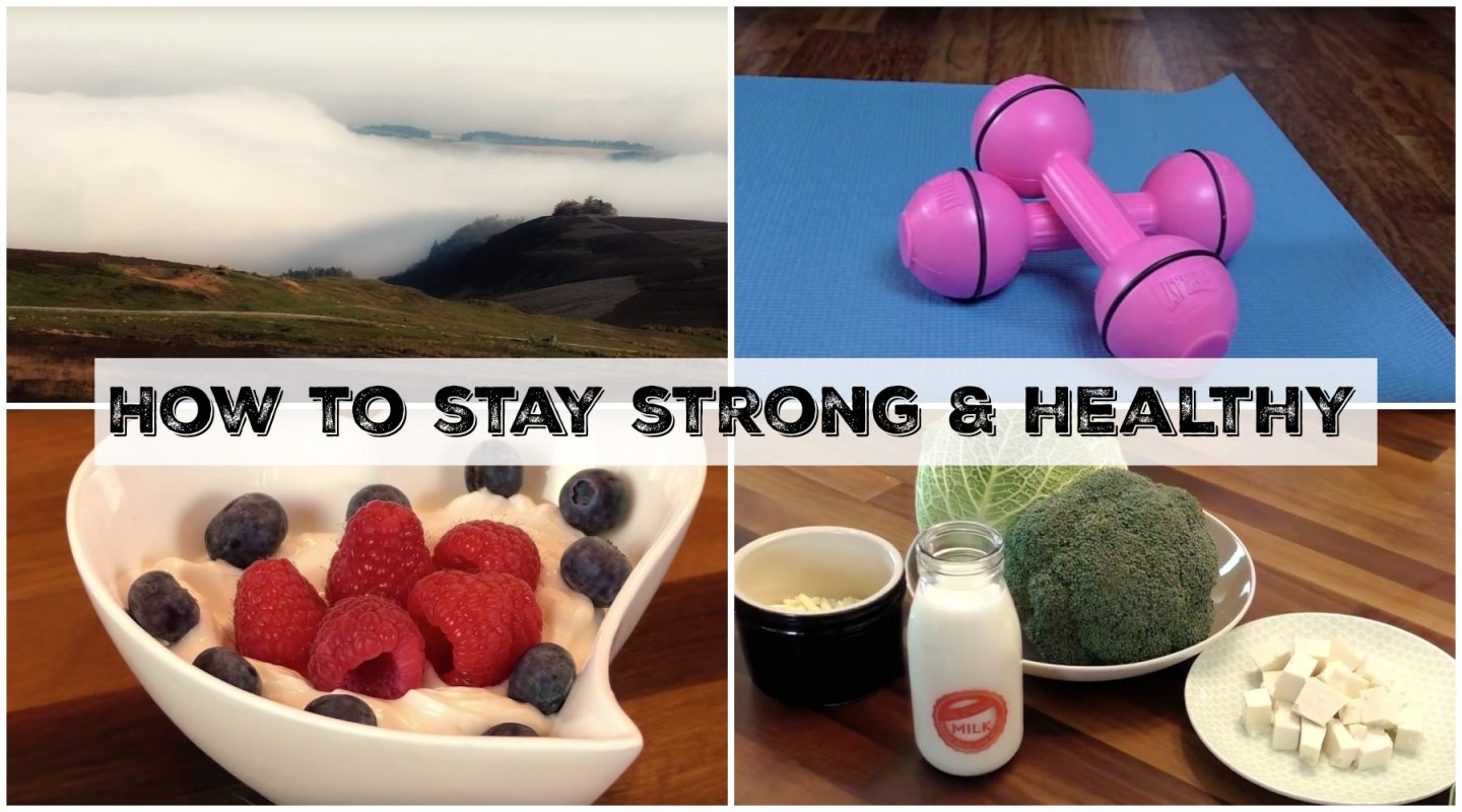 How to Stay Strong & Healthy for Life!