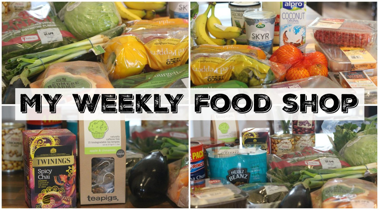 What I Eat – My Weekly Food Shop
