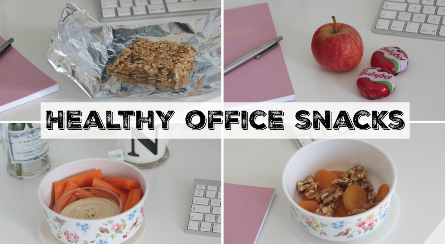 Healthy Snack Ideas for Office & Work