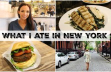 What I ate in NY