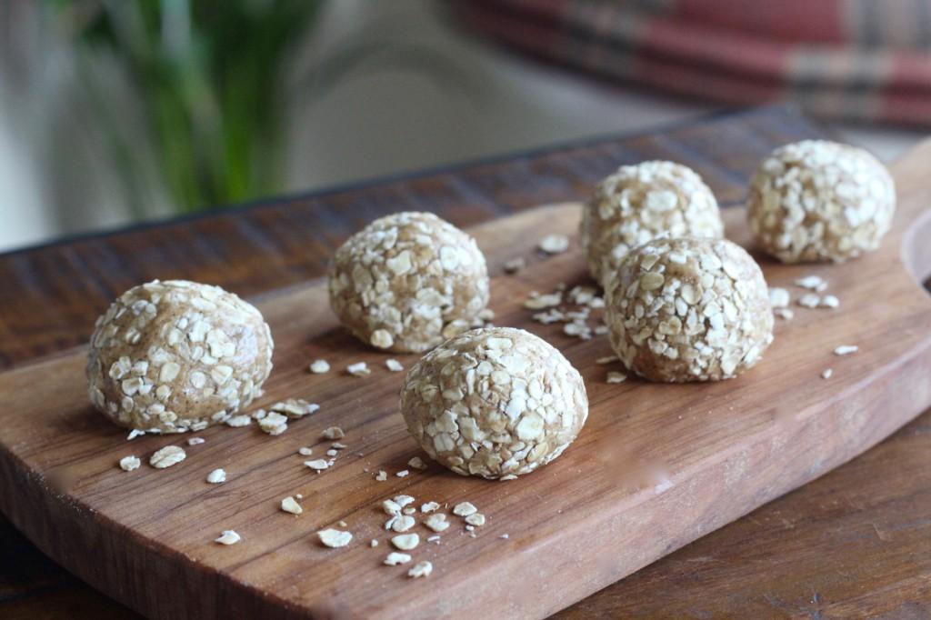Oat & Almond Butter Balls