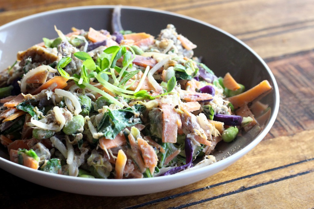 Healthy Mackerel Stir Fry