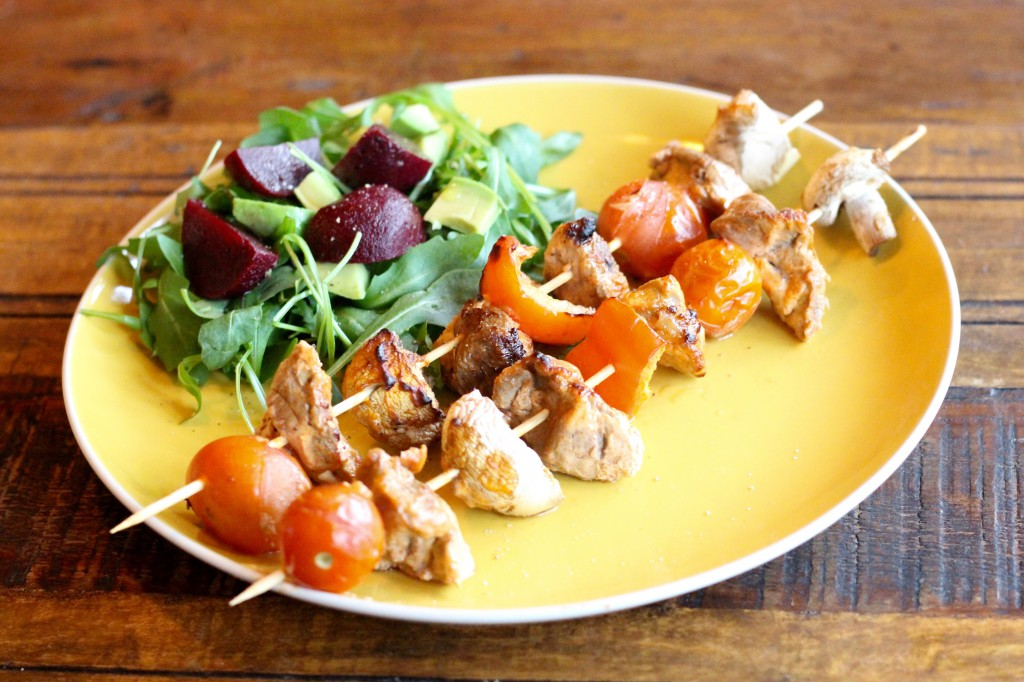 Healthy Lamb Skewers