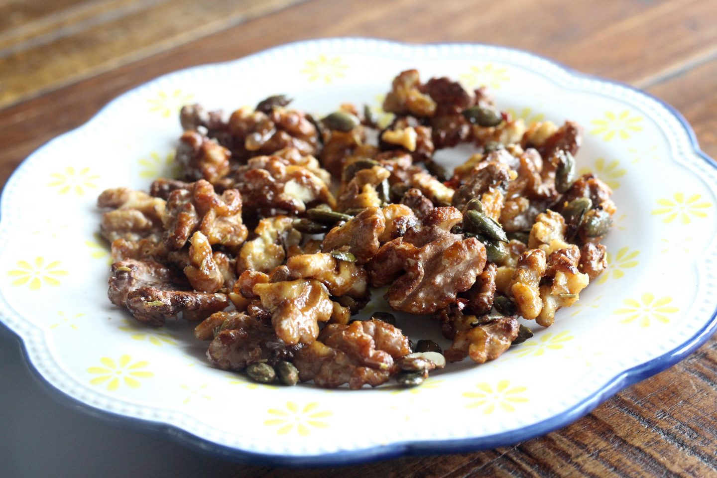 Smoky Rosemary & Chilli Walnuts