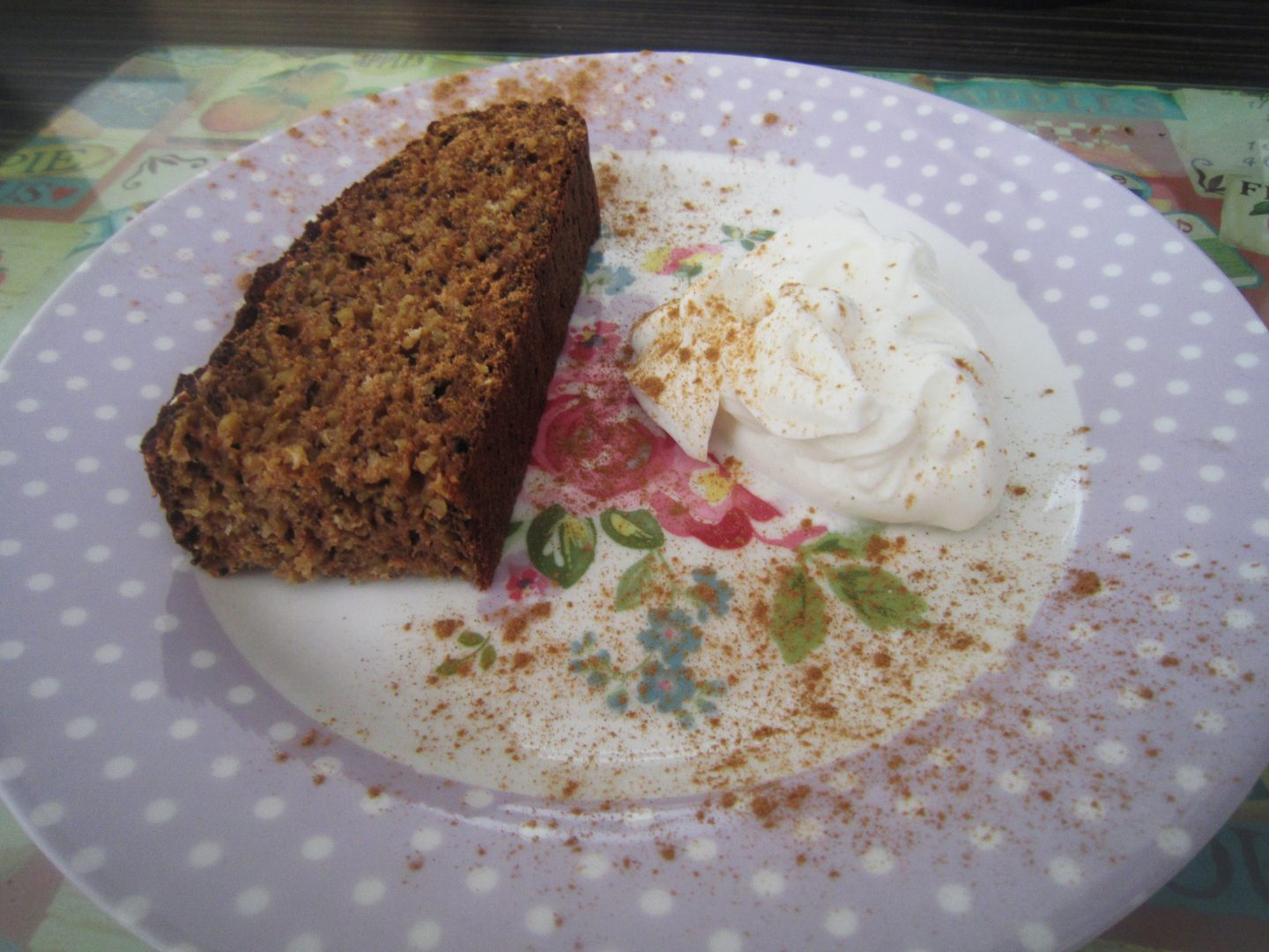 High Protein Banana & Rhubarb Loaf