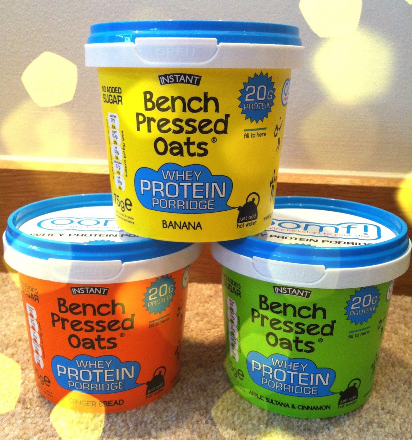 Oomf! Bench Pressed Oats Review