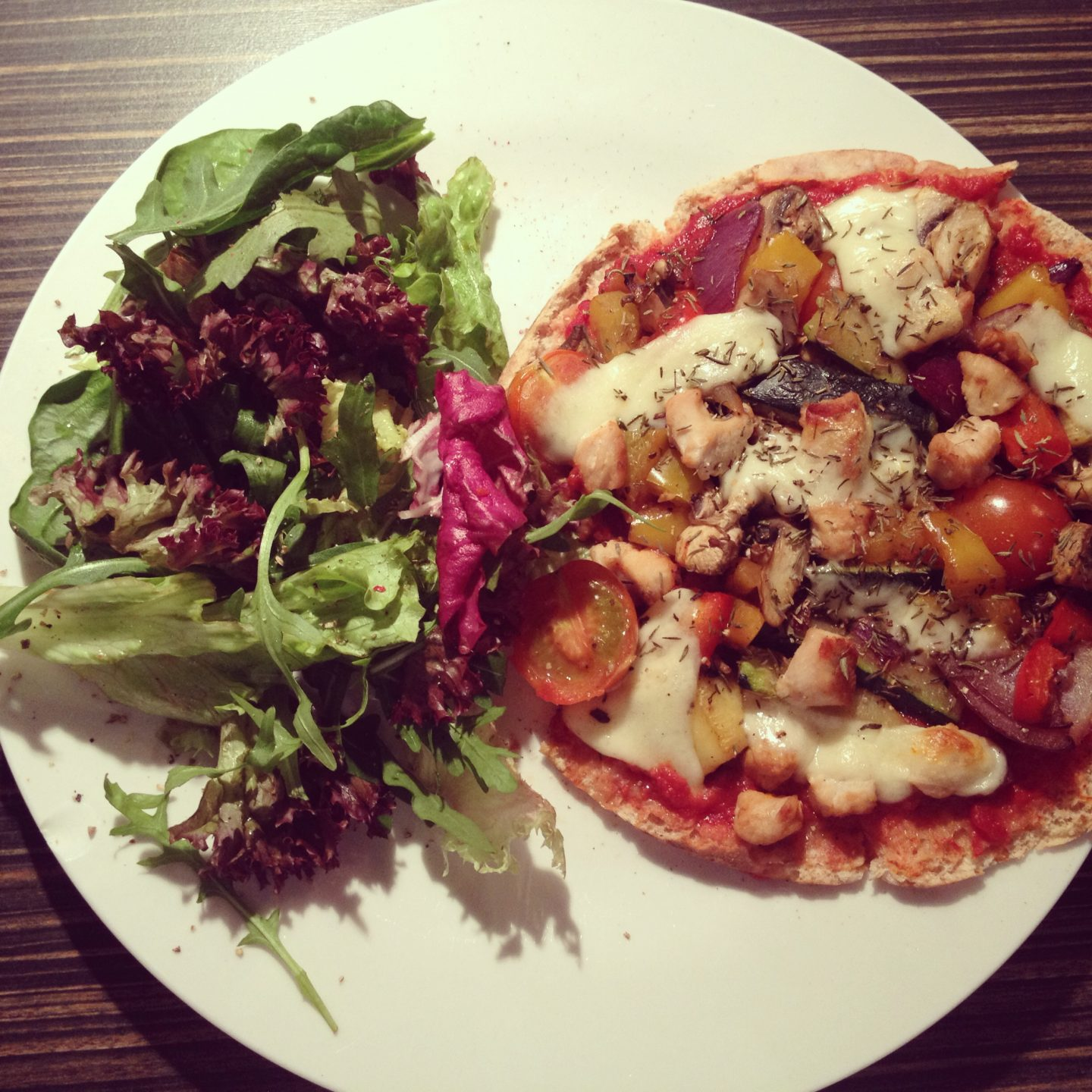 Healthy Home Made Pizza Recipe