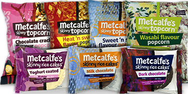 Metcalfe's Skinny Topcorn & Rice Cakes Review