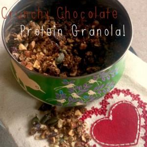 Chocolate Crunchy Protein Granola